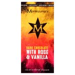 Montezuma's Dark Chocolate with Rose & Vanilla