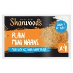 Sharwood's 50% Wholewheat Plain Naans