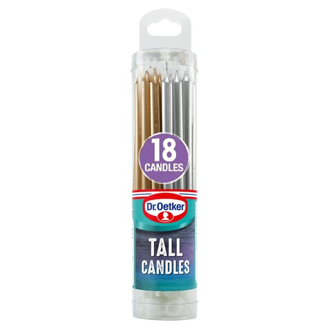 Dr. Oetker 12 Tall Candles