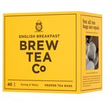 Brew Tea Co English Breakfast Tea Bags
