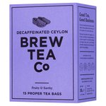 Brew Tea Co CO2 Decaffeinated Tea Bags