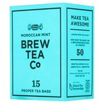 Brew Tea Co Moroccan Mint Tea Bags