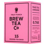 Brew Tea Co Fruit Punch Tea Bags