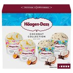 Haagen Dazs Coconut Ice Cream Collection Minicups