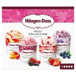 Haagen Dazs Fruit Ice Cream Collection Minicups