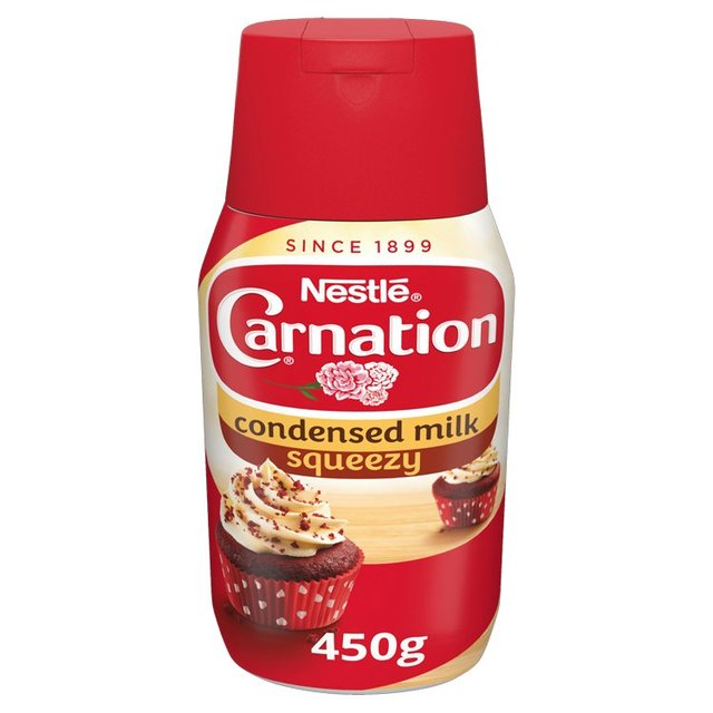 what does sweetened condensed milk look like