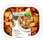 Waitrose Vegetable and Lentil Cottage Pie