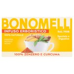 Bonomelli Ginger & Turmeric Herbal Infusion