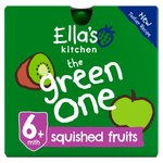 Ella's Kitchen Organic Smoothie Fruits The Green One