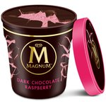 Magnum Tub Dark Chocolate & Raspberry Ice Cream