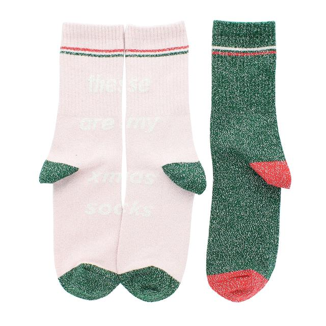Missguided Ladies Christmas Socks, Size 4-8