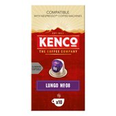 Kenco Intense Lungo Intensity 8 Nespresso Compatible Coffee Pods