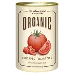 Eat Wholesome Organic Chopped Tomatoes