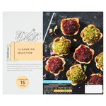 Waitrose 1 Party Food Mixed Game Pies