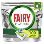 Fairy Platinum Dishwasher Tablets Lemon