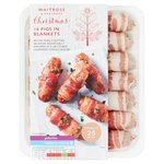 Waitrose Christmas 16 Pigs in Blankets