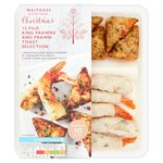 Waitrose Prawn Toast and Filo Prawn Selection