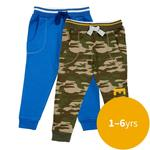 Waitrose Mini Blue & Camo Joggers