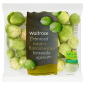 Waitrose Ready to Cook Trimmed Brussels Sprouts
