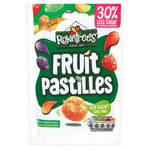 Rowntrees Fruit Pastilles Sweets 30% Reduced Sugar Sharing Bag