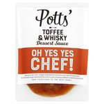 Potts Toffee & Whiskey Sauce