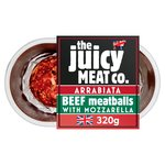 The Juicy Meat Co Arrabiata Beef Meatballs
