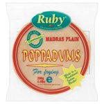 Ruby Plain Madras Poppadums