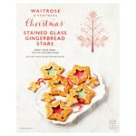 Waitrose Christmas Stained Glass Stars