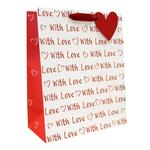 With Love Valentine's Medium Gift Bag