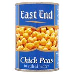 East End Chick Peas In Salted Water