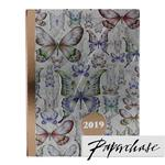 Paperchase A5 2019 Butterfly Notebook