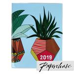 Paperchase Cactus 2019 Diary, Blue
