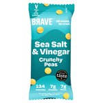 BRAVE Roasted Peas Sea Salt & Vinegar