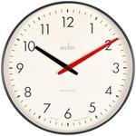 Acctim Riley Retro Wall Clock, Black