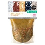PRESS Balance Broth Red Quinoa & Barley With Kale & Flax Seeds