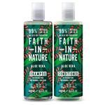 Faith in Nature Duo Shampoo & Conditioner, Aloe Vera