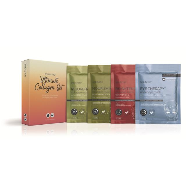 BeautyPro Collagen Face Mask Set