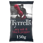 Tyrrells Sea Salt & Black Pepper Crisps