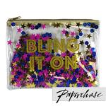 Paperchase Bling It Glitter Pouch