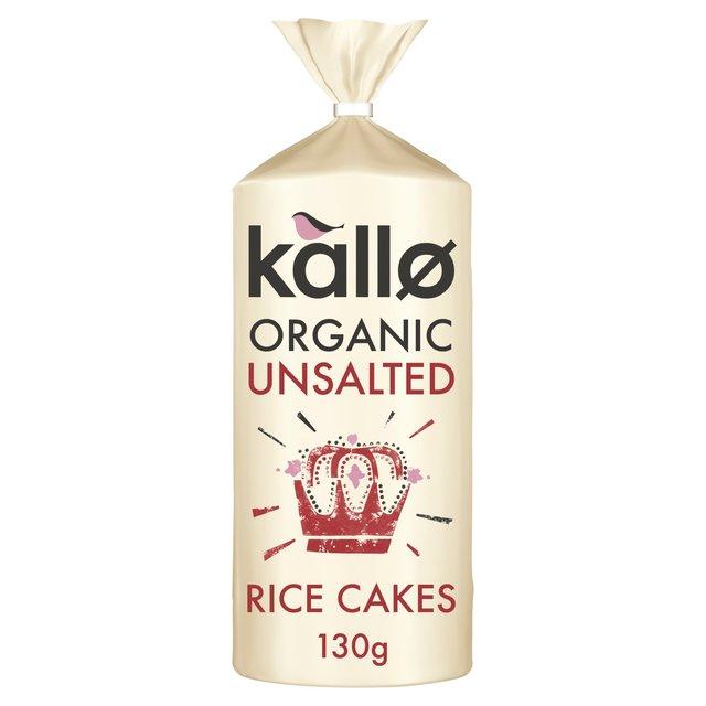 X Organic Rice Cakes No Salt
