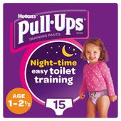Huggies Night-Time Pull-Ups Medium Pink Disney Design