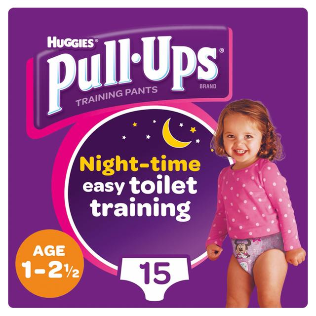 Huggies Medium Night Time Pull-Ups for Girls