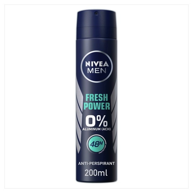 NIVEA MEN Aluminium Free Deodorant Spray Fresh Power