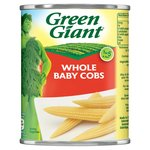 Green Giant Whole Baby Cobs Sweetcorn