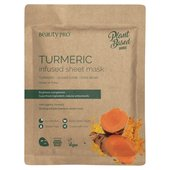 Natura Turmeric Infused Sheet Mask, Vegan
