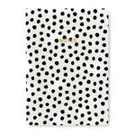 Painterly Dots A5 Notebook