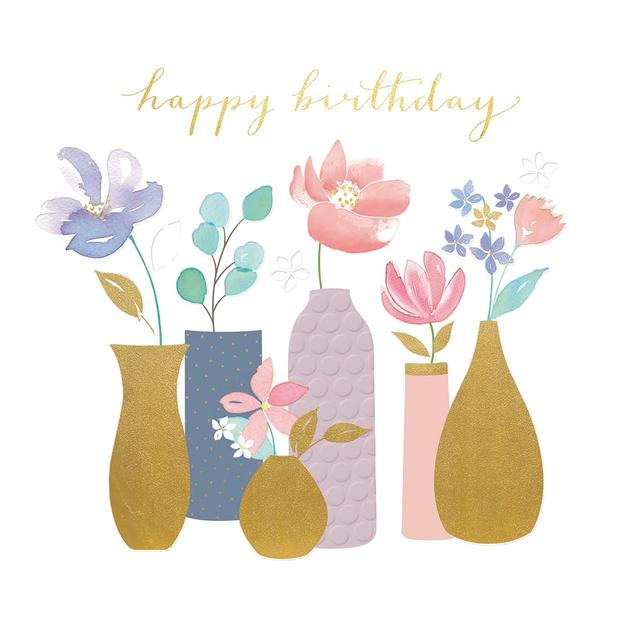 Lottie An Abundance Of Flowers Birthday Greeting Card From Ocado
