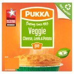 Pukka Pies Leek & Potato Pie