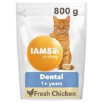 IAMS for Vitality Dental Care Cat Food with Fresh Chicken