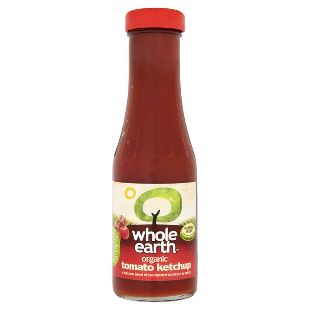 Whole Earth Tangy Organic Tomato Ketchup
